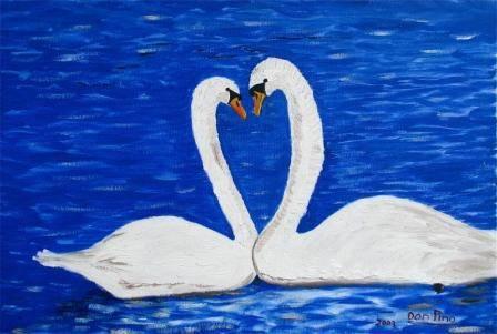 Cisnes Enamorados Donpino2005 Artelistacom