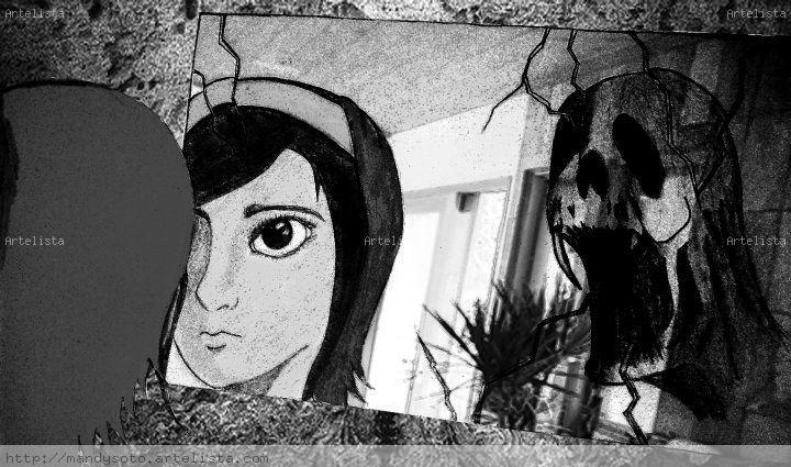 El monstruo del espejo amanda ventura montilla - Artelista.com
