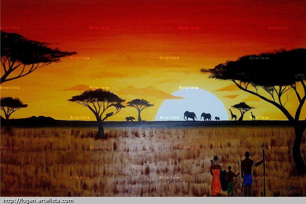 Atardecer En AFRICA Logan Castillo