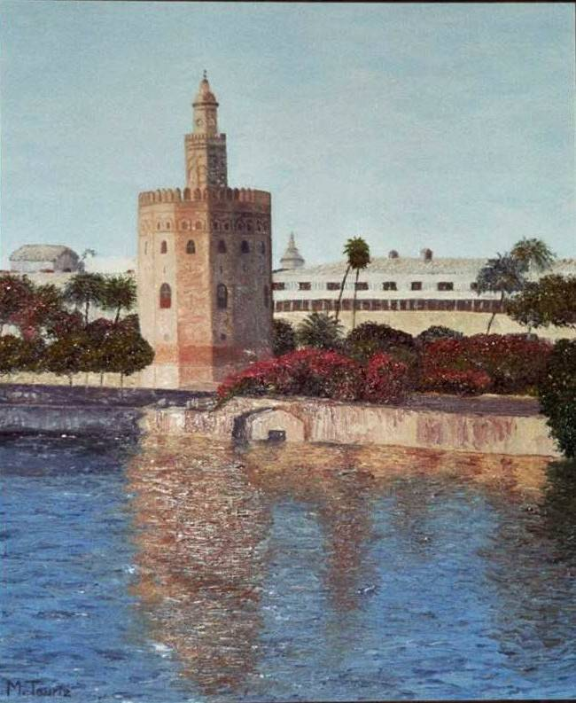 Torre del oro mar tauriz feria for Todo pintura sevilla