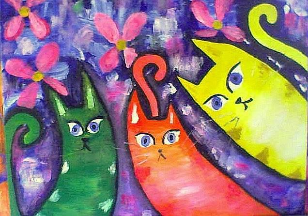 Cuadros coloridos imagui for Imagenes de cuadros abstractos faciles