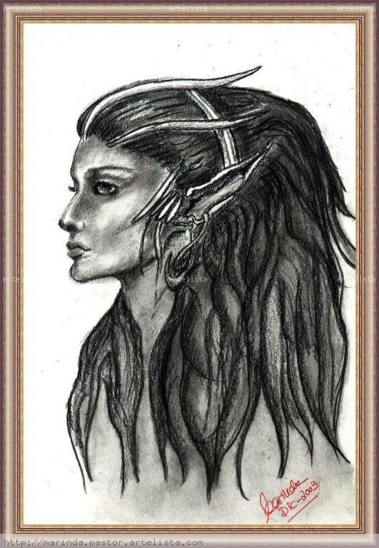 Mujer Elfo Marinda Pastor Artelistacom