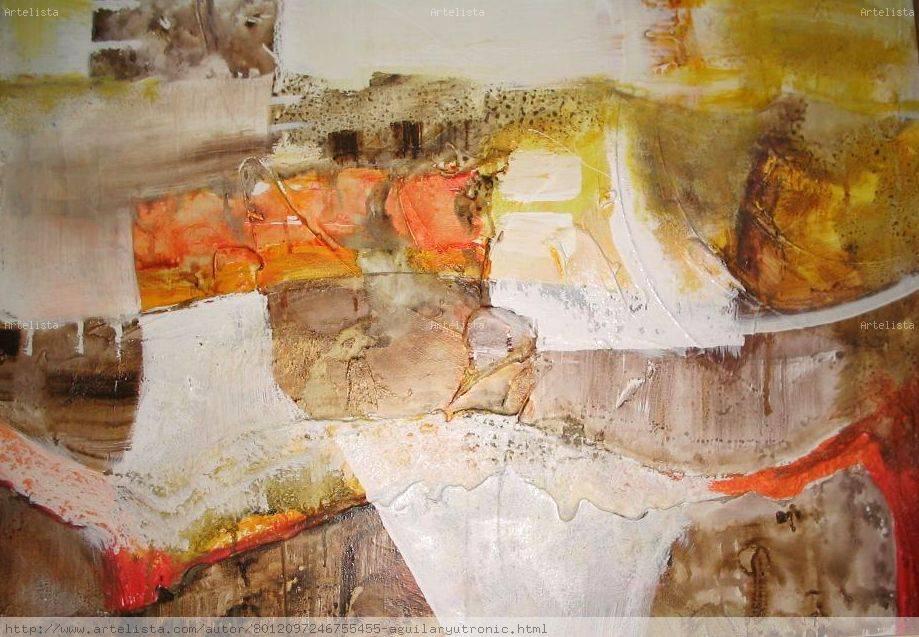 Cuadros abstractos modernos mariany aguilar yutronic for Fotos cuadros abstractos modernos