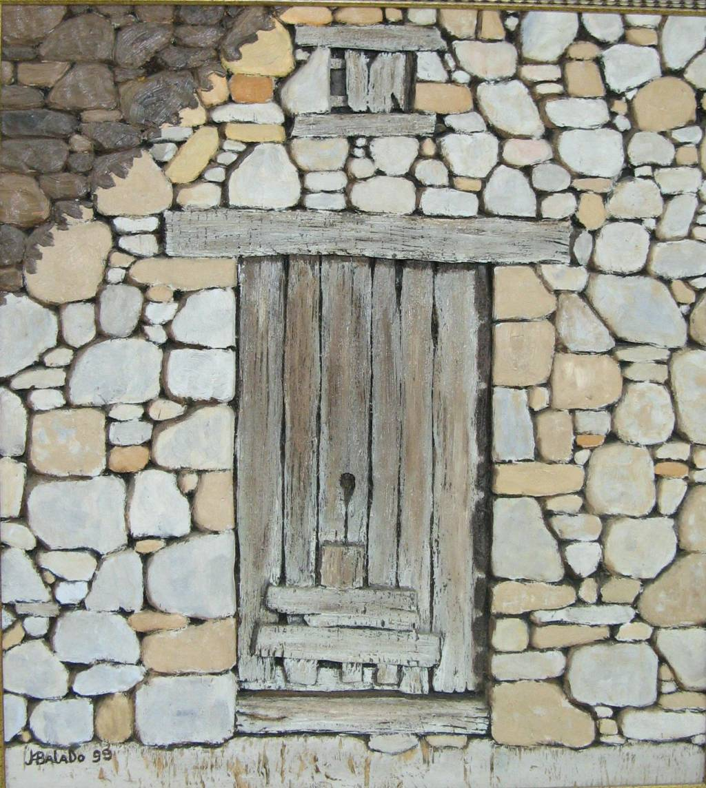 Vieja puerta jes s abel balado taboada for Puerta vieja madera