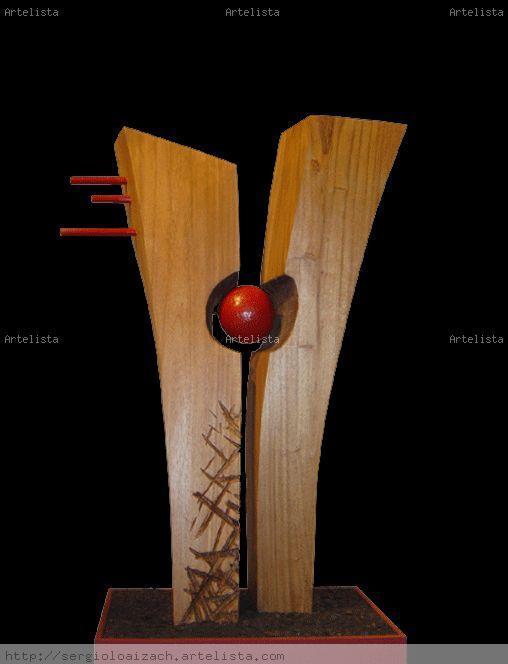Sol interior ii sergio loaiza chaves - Esculturas de madera abstractas ...