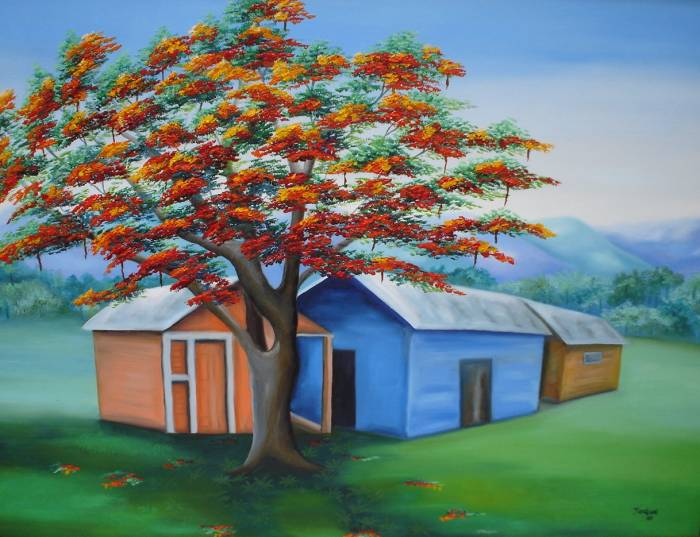 casita de campo oil canvas landscaping - Casitas De Campo
