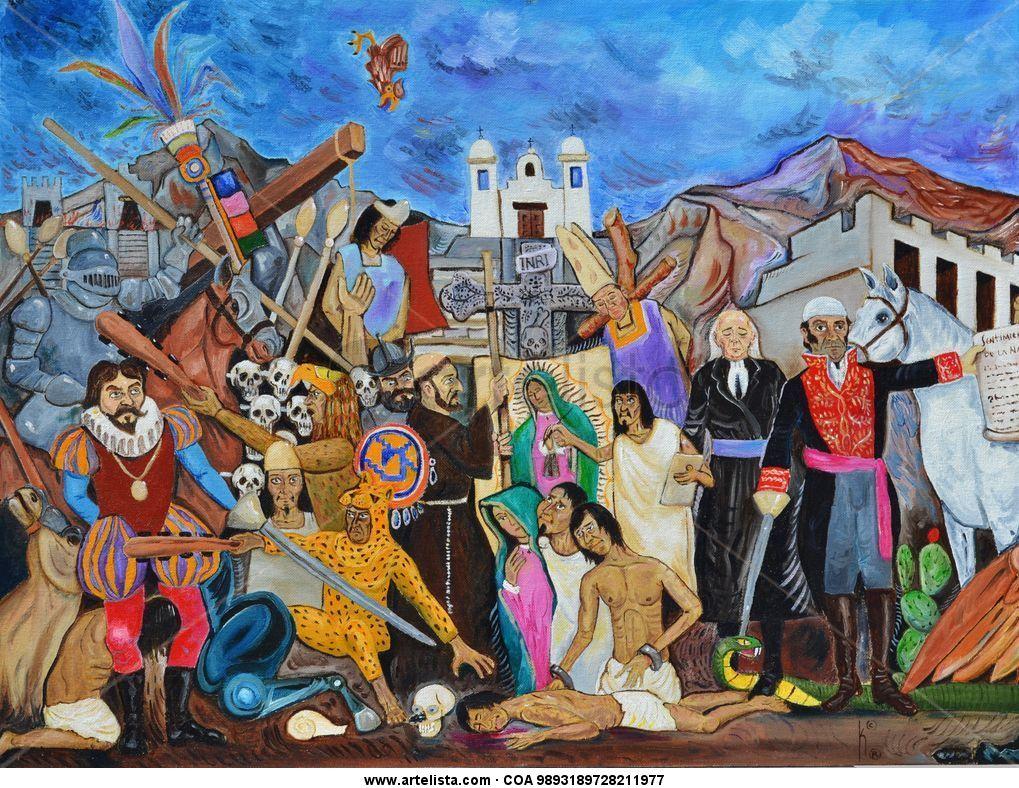 Breve Tratado Pictorico De La Historia De Mexico I Por Kinkin Juan