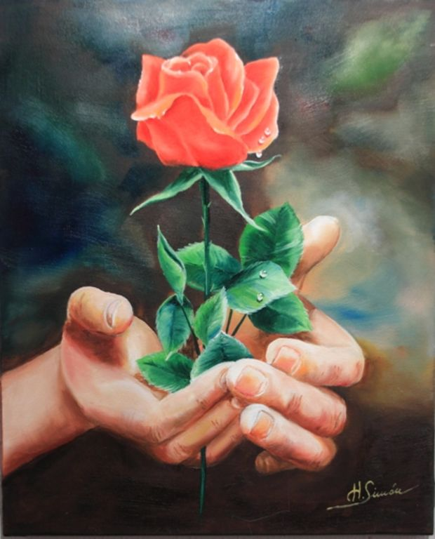 Una Rosa Para Ti Isabel Haro Simon Artelistacom