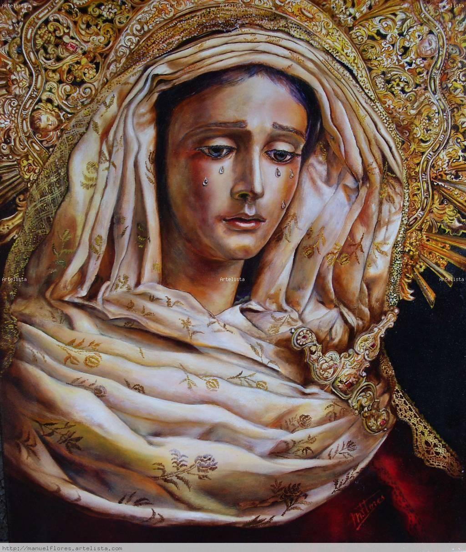 Virgen de la piedad hermandad del baratillo sevilla for Todo pintura sevilla