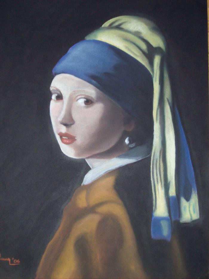 Error Pez anémona Amplia gama  La joven de la perla-Vermeer Marta Moreno - Artelista.com