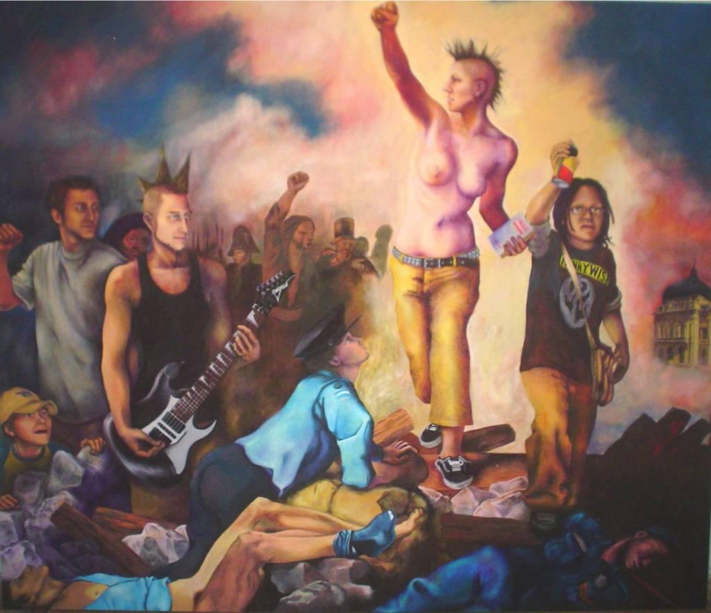 la liberte guidant le peuple Je cherche la vidéo sur la liberté guidant le peuple que mon prof m'a demander de voir mais je ne la trouve pas :/ histoire-image le 01/06/2015 à 09:06:44 bonjour,.