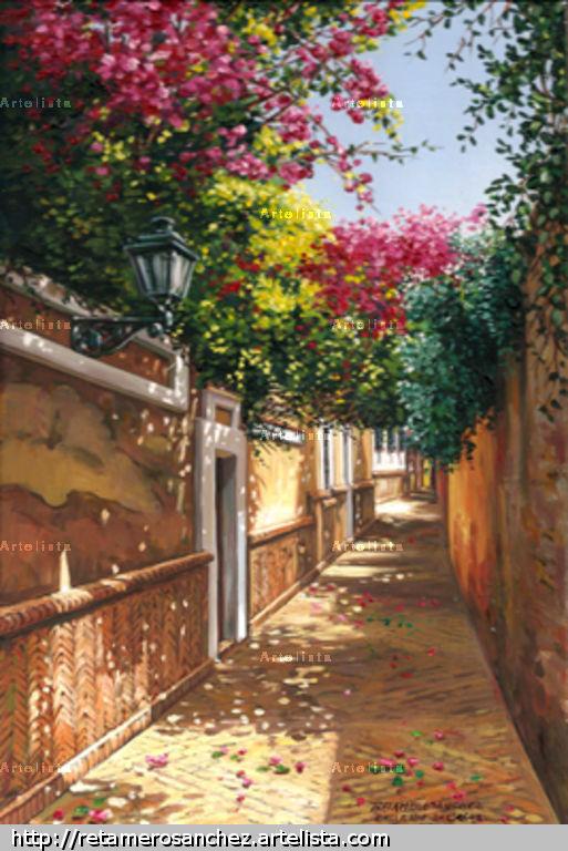 Sevilla callej n del agua francisco jose retamero sanchez for Todo pintura sevilla