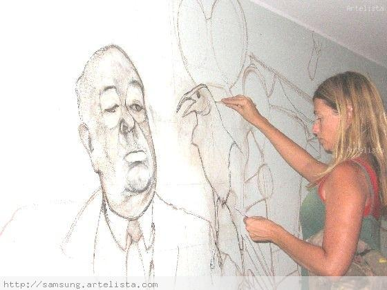 Mural Homenaje Al Cine Silvana Guerrero Artelista Com