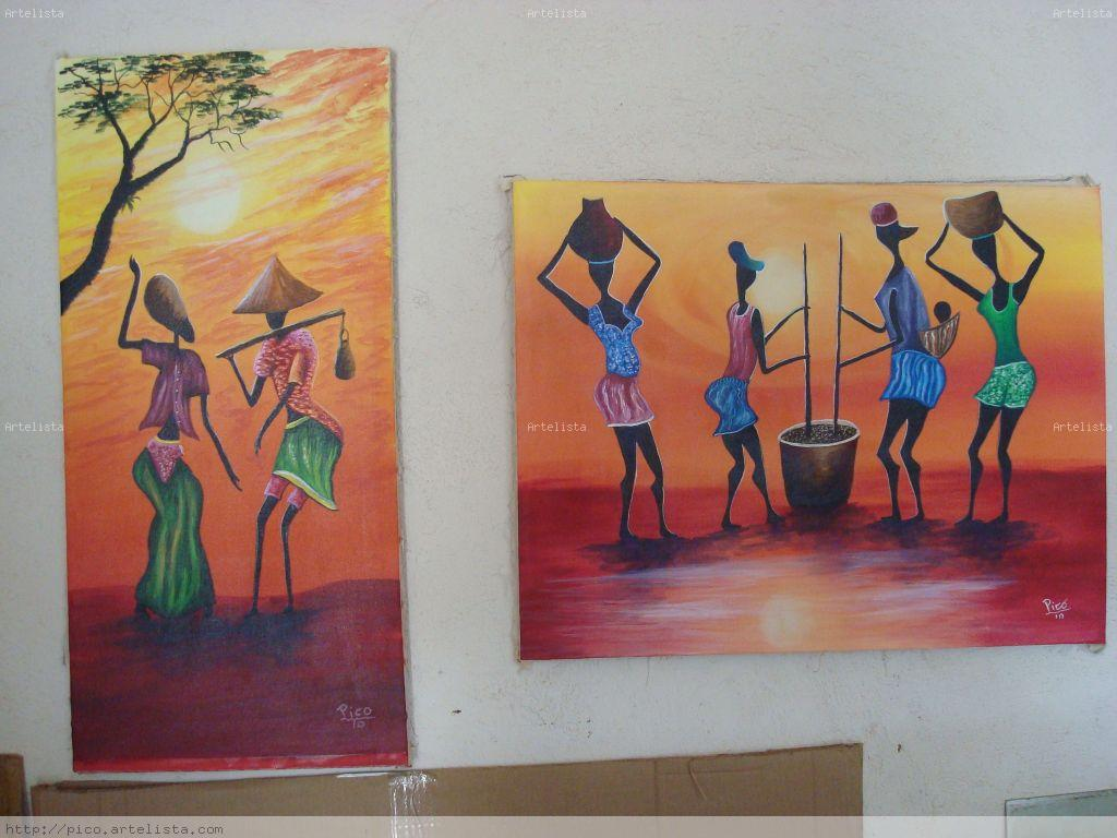 pinturas africanas.