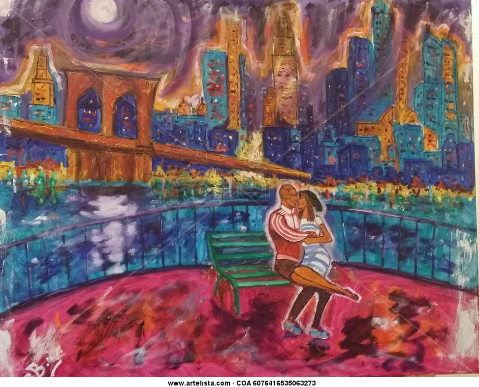 Puente De Brooklyn New York Raul Ballesta Artelista Com
