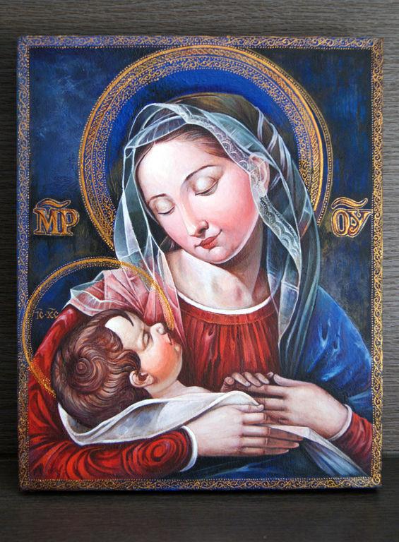La Virgen María Y El Niño Jesús Igor Rakov Artelistacom