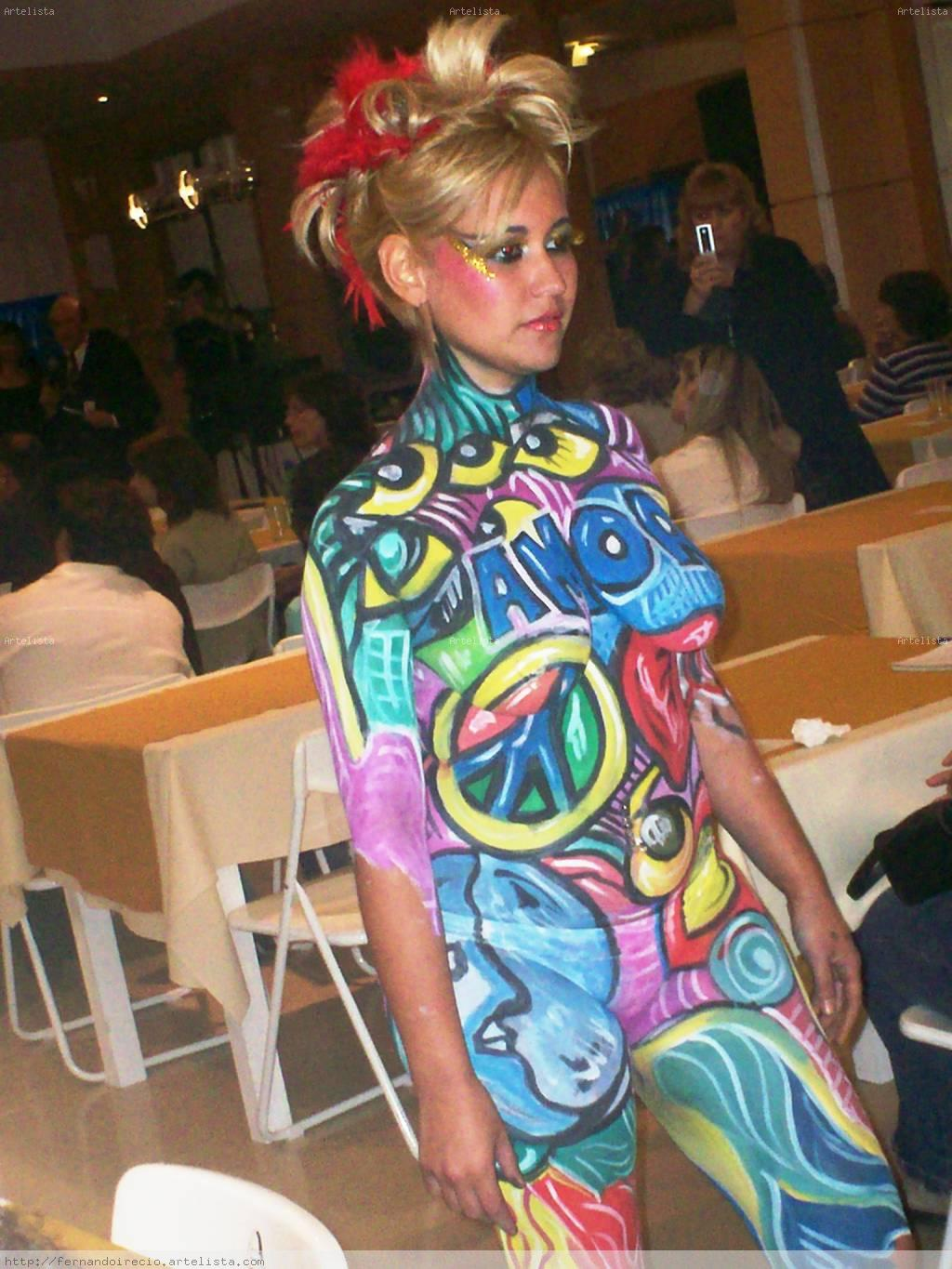 BODY PAINTING Oil Canvas Landscaping