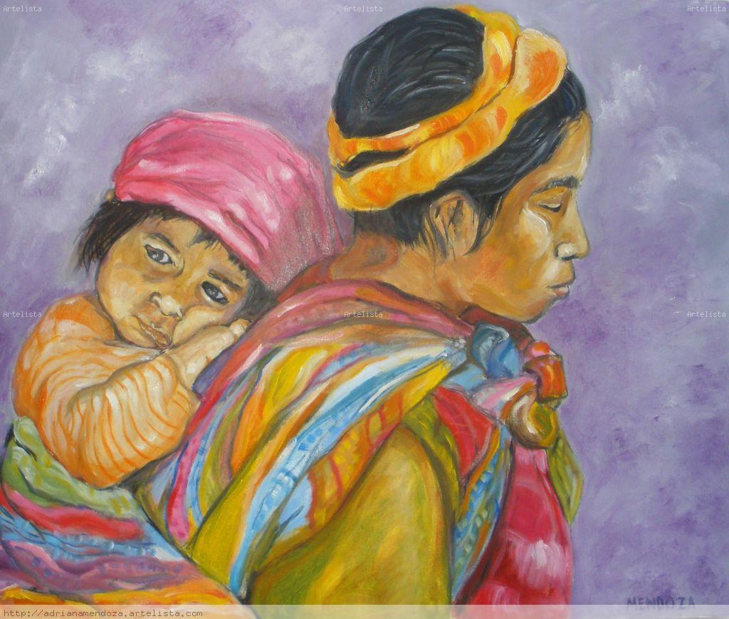 Madre e hija adriana mendoza - Baldas para cuadros ...