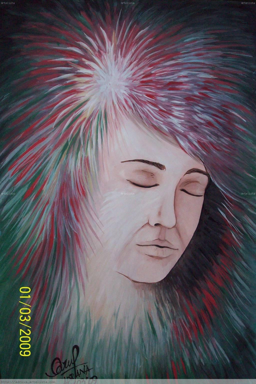 el marco de la cara Adriana Wozniak - Artelista.com