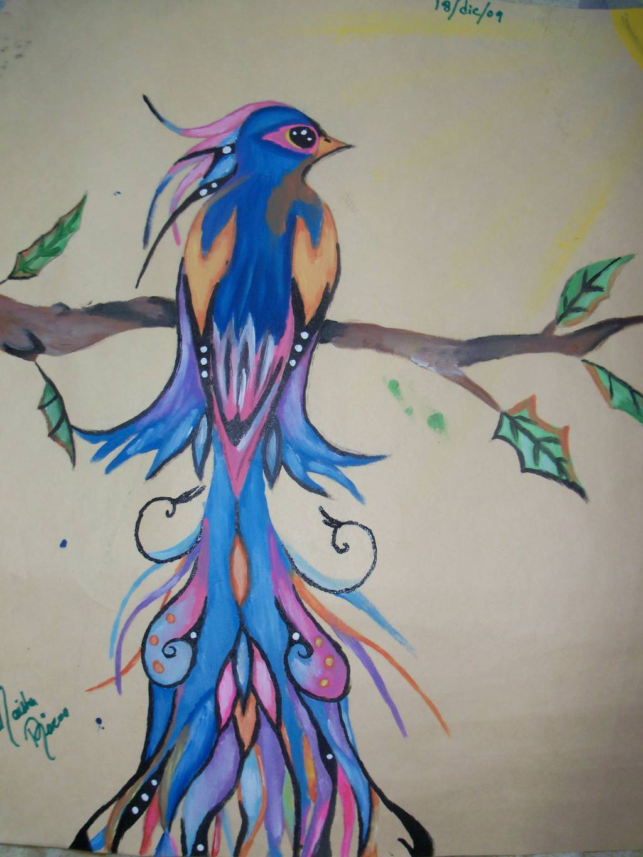 Linda ave naisha rivera - Cuadros modernos con mucho color ...