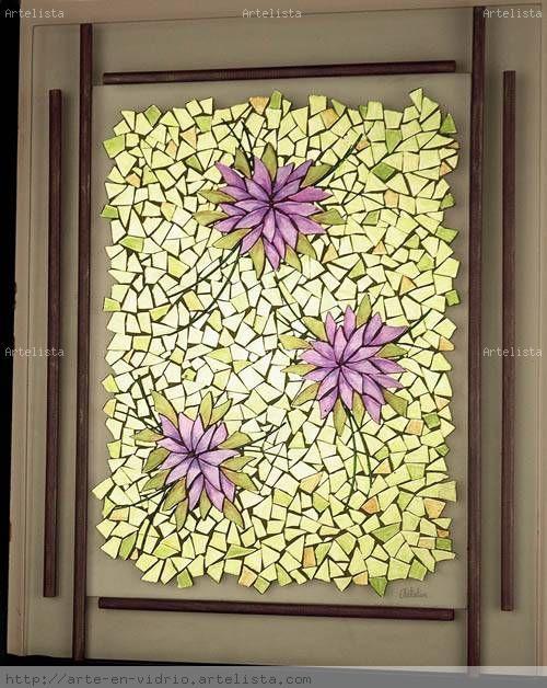 Flores silvestres 1 1 elisa kemerer - Vidrio plastico para cuadros ...