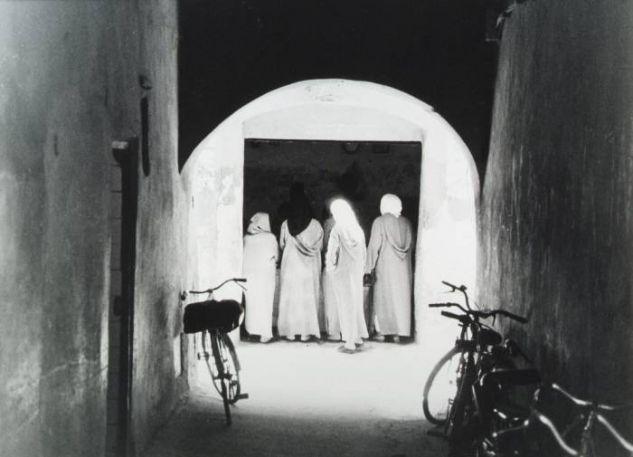 Martes en el mercado (Marrakesch) Viajes Blanco y Negro (Química)