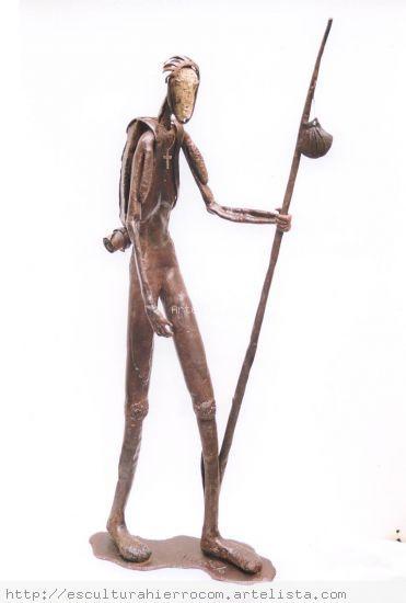 Peregrino Metal Figurativa