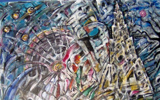 Zeit-Reise: Wien-Art/Time-travel: Vienna-Art/Tiempo de viaje: Vienna Art Acrílico Otros Figura