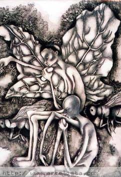 Limpiando el alma Carboncillo