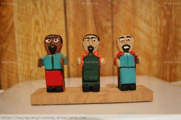 Pastores Madera Figurativa