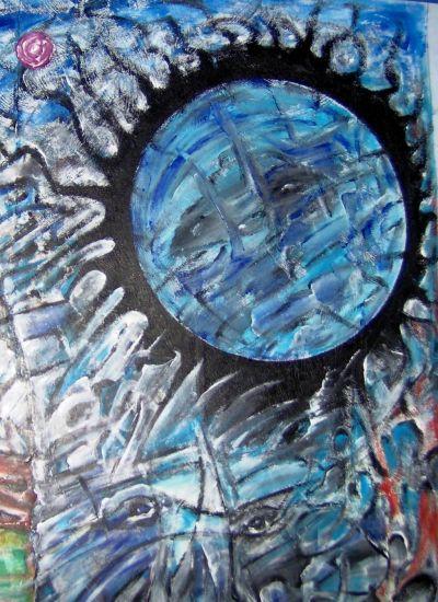 Zeit-Phase: Mond-Art/Time-phase lunar-type/Tiempo de la fase lunar de tipo Acrílico Otros Figura