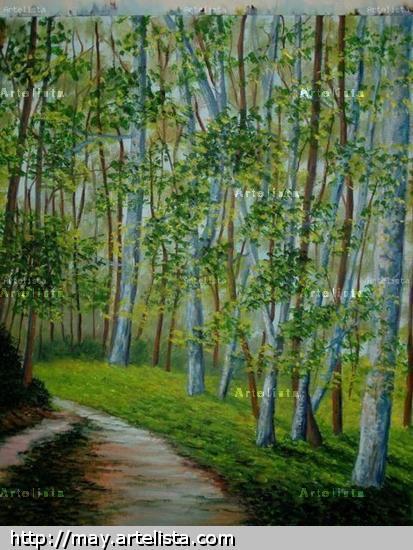 paisaje y arboles