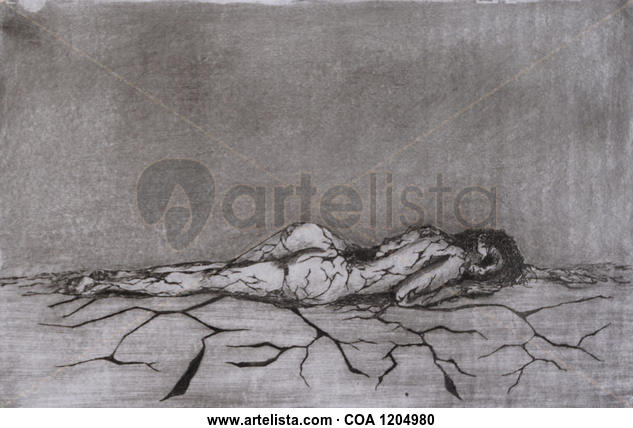 La herida Huecograbado
