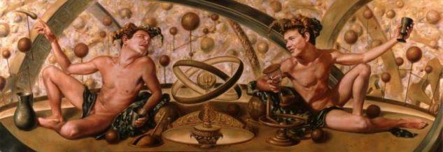 Dos Arlequines Ebrios Controlando el Universo