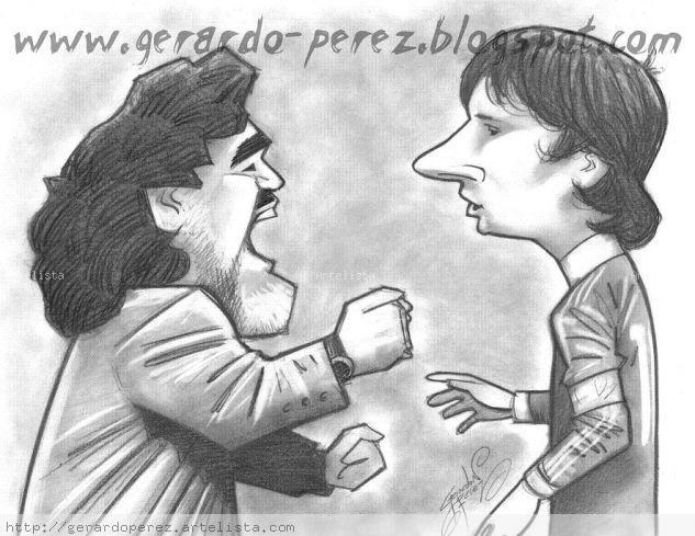 Diego Y Messi