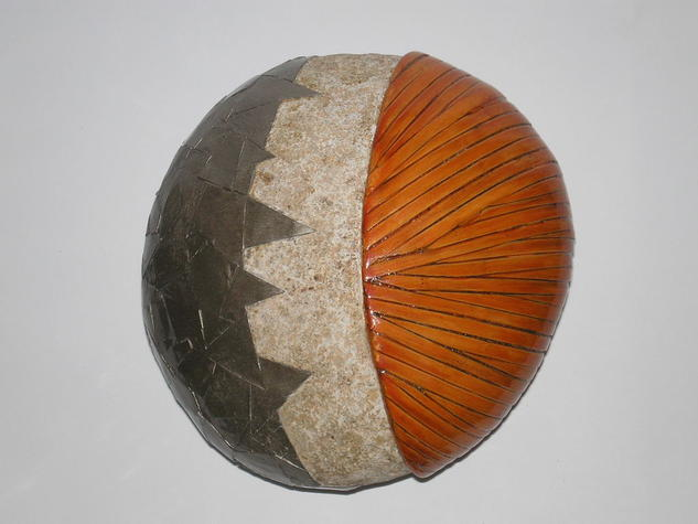 Piedra madera metal Piedra Mixta