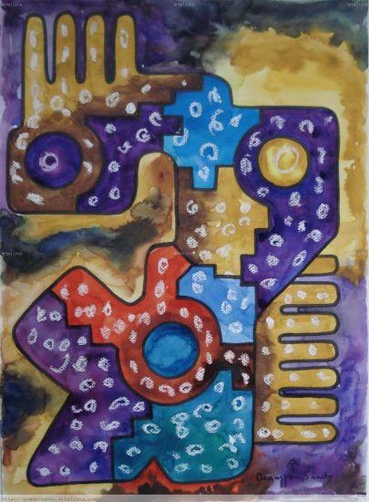 abstracto Andino Boliviano 45