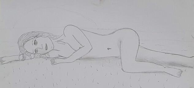 Dibujo de mi etapa en el IED Lápiz