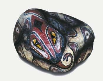vibora enroscada Stone Figurative