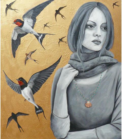 Soledad Tabla Óleo Retrato