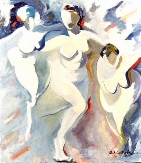 La danza Figura Óleo Lienzo