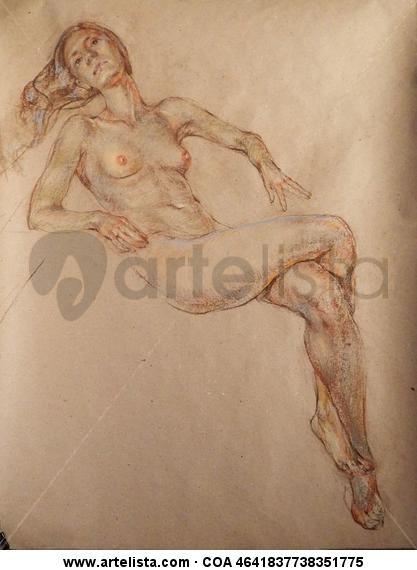 Rita Papel Pastel Desnudos