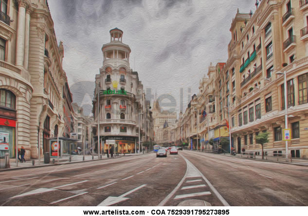 Madrid  Canvas Others Landscaping