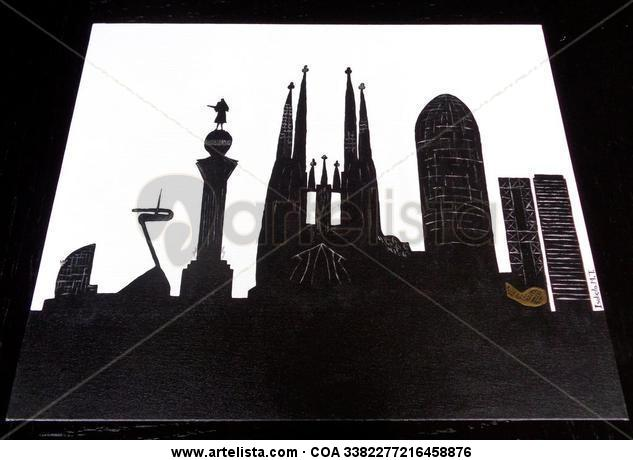 Skyline BCN Canvas Others Landscaping