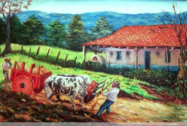 Peinture De Moulina Cafe