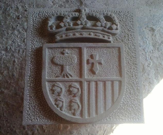 ESCUDO ARAGÓN Figurativa Piedra