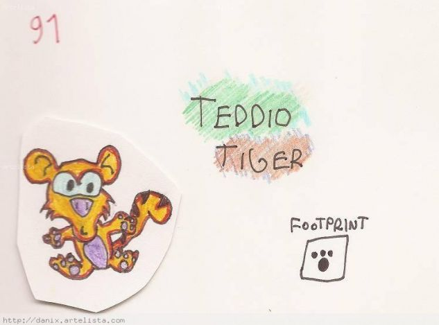 teddio tiger