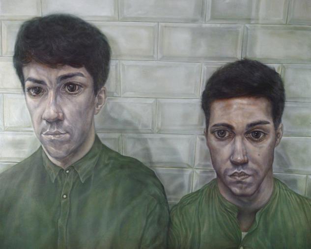 El sonido del koto Oil Portrait Panel