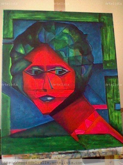 2007 Lienzo Acrílico Retrato