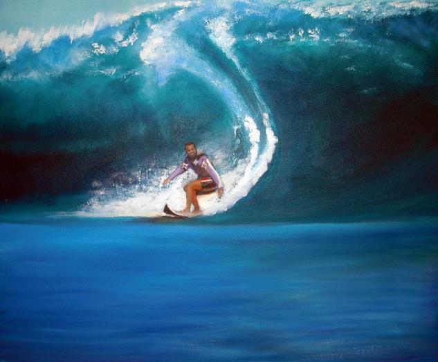 Surf Deportes Óleo Lienzo